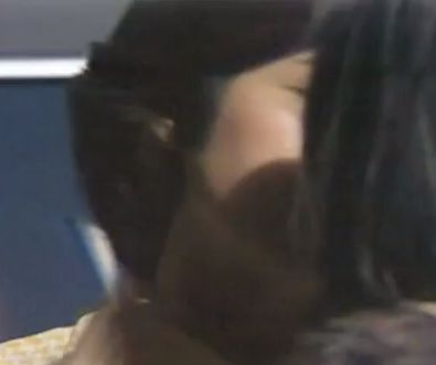 【中田喜子】女同士でキスをするラブシーン