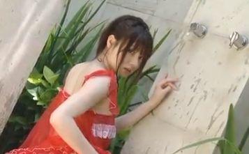 【鈴木茜】色っぽすぎるシャワーシーン