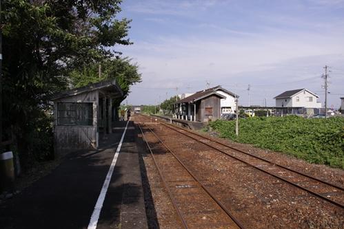 宮口駅ホーム掛川方面