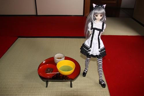 お茶とカンナ