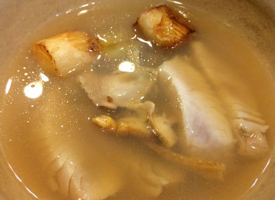 さわら塩たたきのスープ