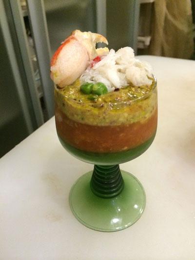 金目鯛のトマトバルサミコ