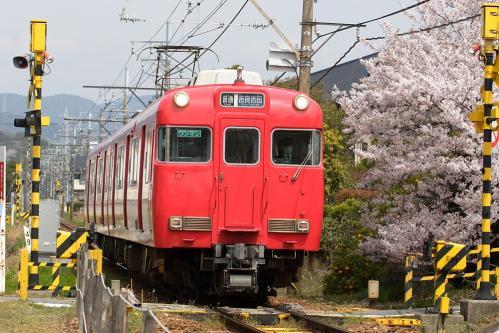 名鉄蒲郡線・吉良吉田行き普通列車