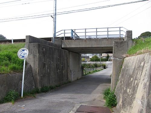 名鉄こどもの国駅・複線化対応2