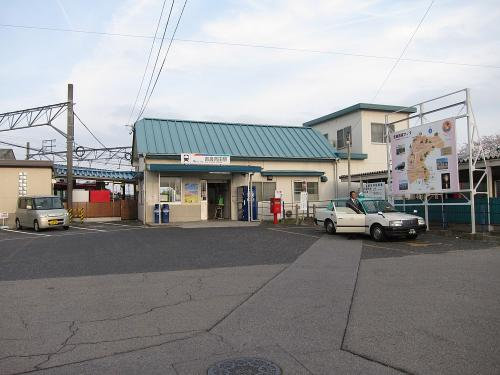 名鉄吉良吉田駅駅舎