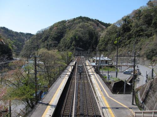 古虎渓駅・名古屋方面側