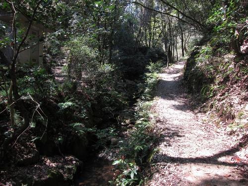 東海自然歩道・春日井コースの様子