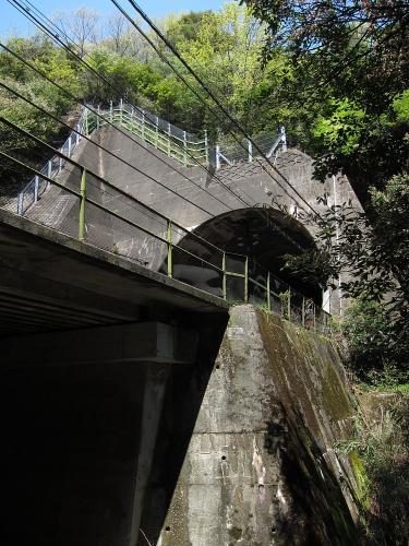 現中央本線トンネル(玉野第二トンネル)
