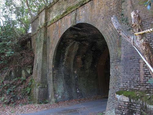 愛岐トンネル群・八谷洞橋りょう付近