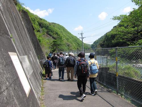 愛岐トンネル群 第11回特別公開・定光寺駅前