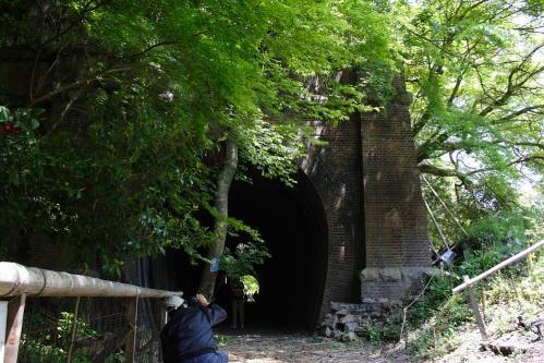 愛岐トンネル群 第11回特別公開・4号トンネル春日井坑口1