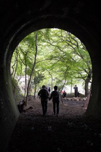 愛岐トンネル群 第11回特別公開・4号トンネル多治見坑口2
