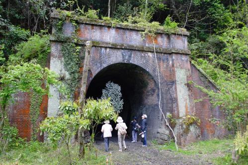 愛岐トンネル群 第11回特別公開・6号トンネル多治見坑口2