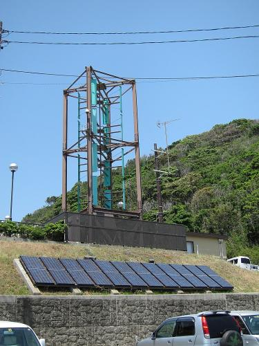 国道一号+渥美半島・道の駅潮見坂の発電設備
