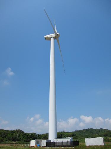 国道一号+渥美半島・伊良湖風力発電所1