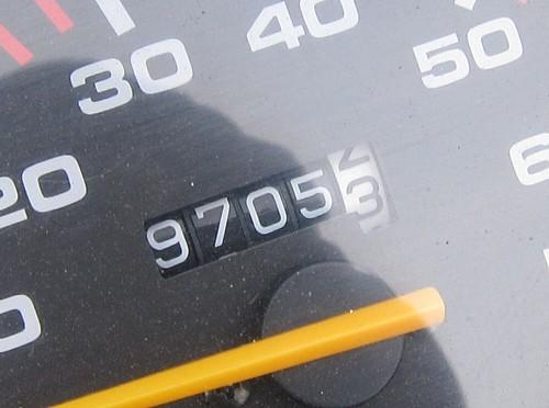 国道一号+渥美半島・到着時の距離計