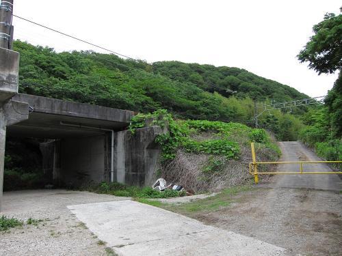 名鉄知多新線・小野浦駅構造物2