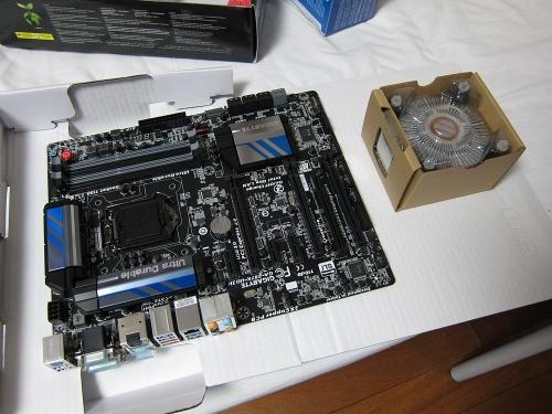 新メインPC・マザーボードとCPU2