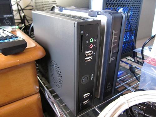 Shuttle DS61 V1.1 と外付けHDD