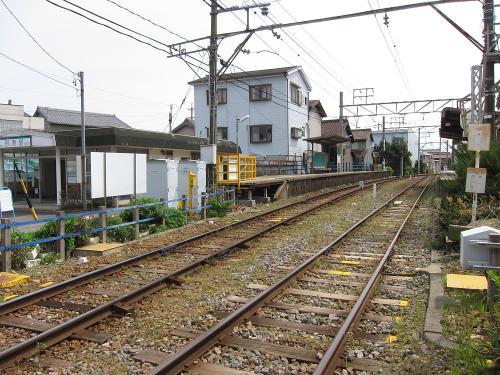 名鉄形原駅ホーム