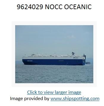 9624029 NOCC OCEANIC