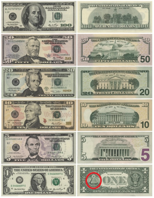 ドル紙幣2