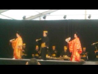 出雲大社遷宮 琉球舞踊 かぎやでふう