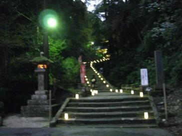 清水寺 灯参道