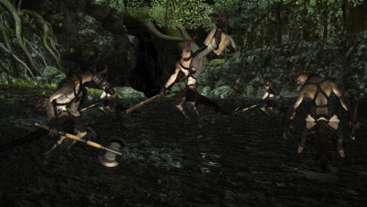 大樹で轟く闇の鼓動1