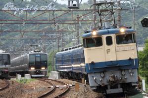 回9912レ(EF65-1135牽引)