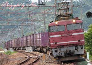 4083レ(EF81-726牽引)