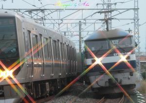 1051レ(=EF210-140牽引)