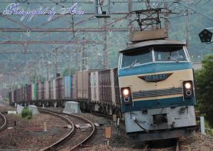 遅5070レ(=EF66-27牽引)