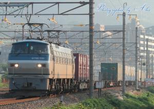1051レ(=EF66-130牽引)