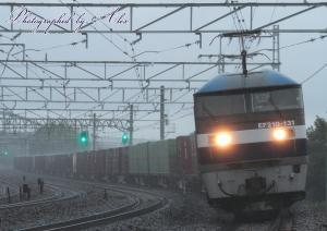 67レ(=EF210-131牽引)