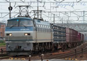 1252レ(=EF66-130牽引)