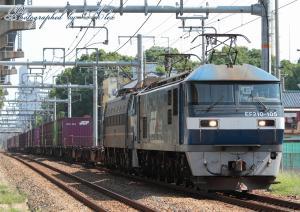 5073レ(=EF210-105+EF66-27(ムド))
