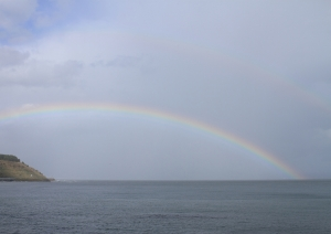 主虹と副虹