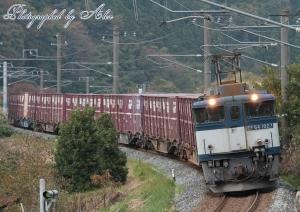 3084レ(EF64-1027牽引)・2回目