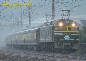 9914レ(EF81-113+サロンカーなにわ(7両))