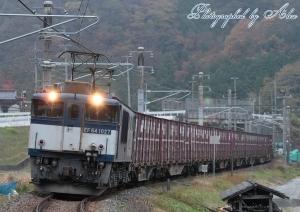 3082レ(=EF64-1027牽引)