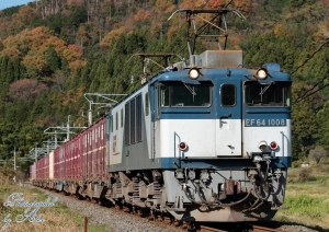 3084レ(=EF64-1008牽引)