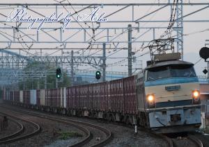 5073レ(EF66-35牽引)