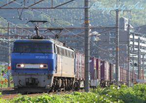 1083レ(EF200-3牽引)