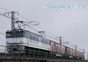 3086レ(=EF64-60牽引)