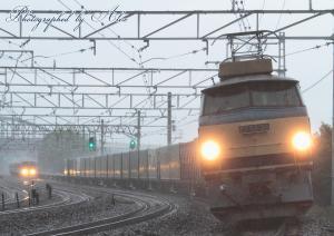 1051レ(=EF66-30復活牽引)