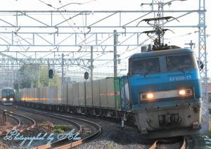 1051レ(EF200-11牽引)