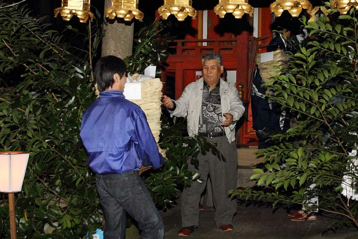 高山八幡宮 秋祭り(宵宮)4