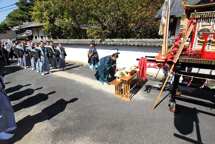 水分神社 秋祭り1
