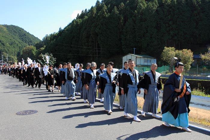 水分神社 秋祭り2